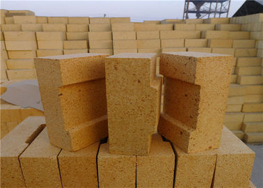 Good Spelling Resistance Refractory Fire Bricks Long Service Life ISO9001 Compliant