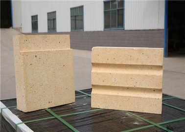Light Yellow Color High Temperature Bricks Calcined Bauxite Raw Materials