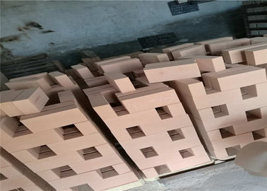 230x114x65mm Refractory Insulation Bricks , Stove Fire Brick Superior Insulating Materials Type