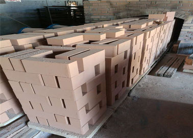 China Low Thermal Capacity Refractory Fire Bricks , Heat Proof Bricks For Furnace Kiln Insulating Layer supplier