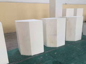 China 33# 36# 41# Corundum Brick No Shrinkage Cavity Fused Alumina Zirconia Brick distributor