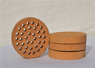 China Round Shape Kiln Refractory Bricks For High Working Temperature Areas distributor