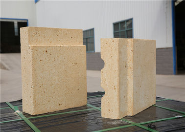 China Fine Thermal Shock Stability Alumina Refractory Bricks High Refractoriness Under Load distributor