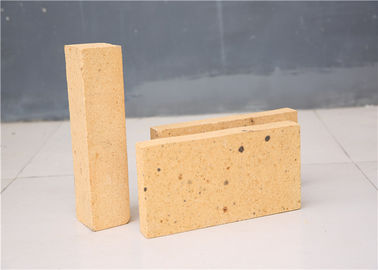 China Light Yellow Appearance Fireplace Refractory Brick High Alumina Content For Metallurgy distributor
