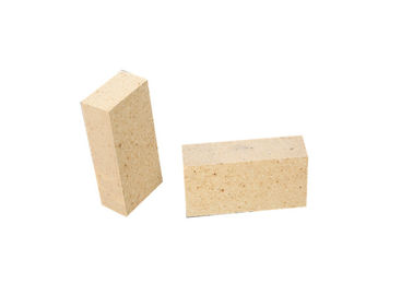China CE Approved Heat Proof Bricks , Yellow Fire Brick Excellent Load Bearing Properties factory