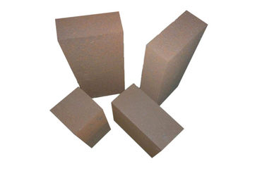 China Large Stocks Magnesite Refractory Bricks Refractoriness Under Load 1500 - 1550℃ factory