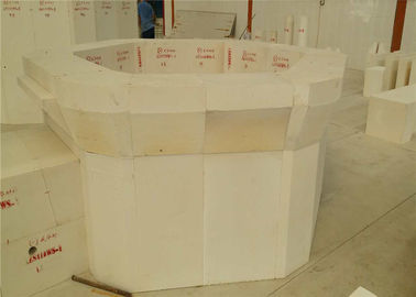 China Compact Microstructure Corundum Brick No Shrinkage Cavity Type Fused Cast Block factory