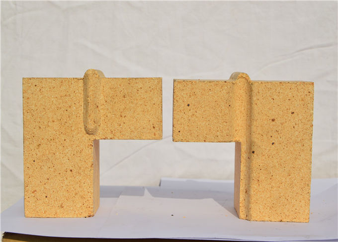 Compact Size Furnace Refractory Bricks Bauxite And Alumina Powder Raw Materials