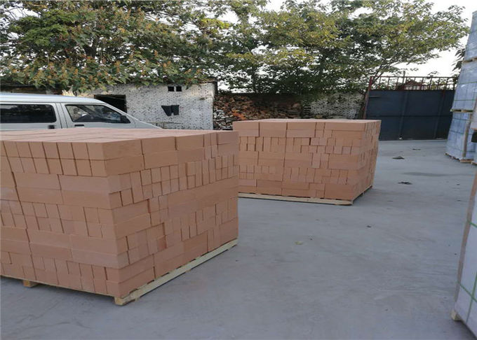Low Thermal Capacity Refractory Fire Bricks , Heat Proof Bricks For Furnace Kiln Insulating Layer